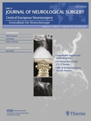 Journal of Neurological Surgery Part A Central European Neurosurgery