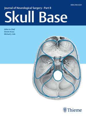 Journal of Neurological Surgery Part B Skull Base