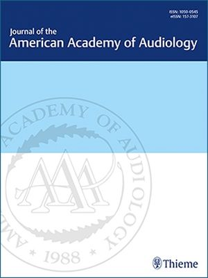 Journal of the American Academy of Audiology