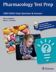 Pharmacology Test Prep. 1500 USMLE-Style Questions & Answers